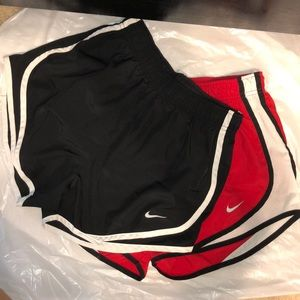 Lot of 2 Nike Running Shorts